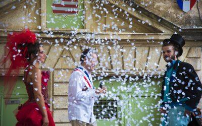 La fête de la Saint Jean par le collectif Temporadas à Pézenas