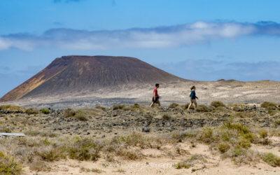 Lanzarote, une ile volcanique et des vignes sur du basalte