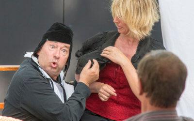 Cabaret Molière par la troupe de théâtre amateur Loup'Trans de Suzanne Héleine